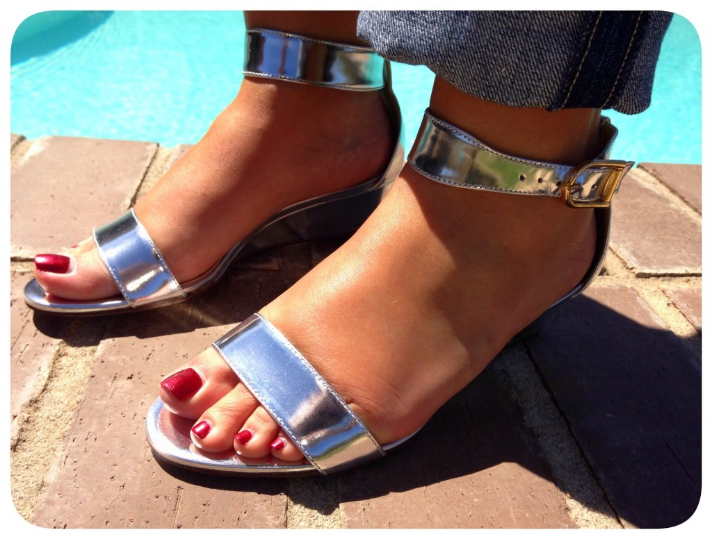 9bc8e1b615ba I love the Silver Metallic. They will be perfect for Spring and definitely  Summer. I already outfits create around these sandals