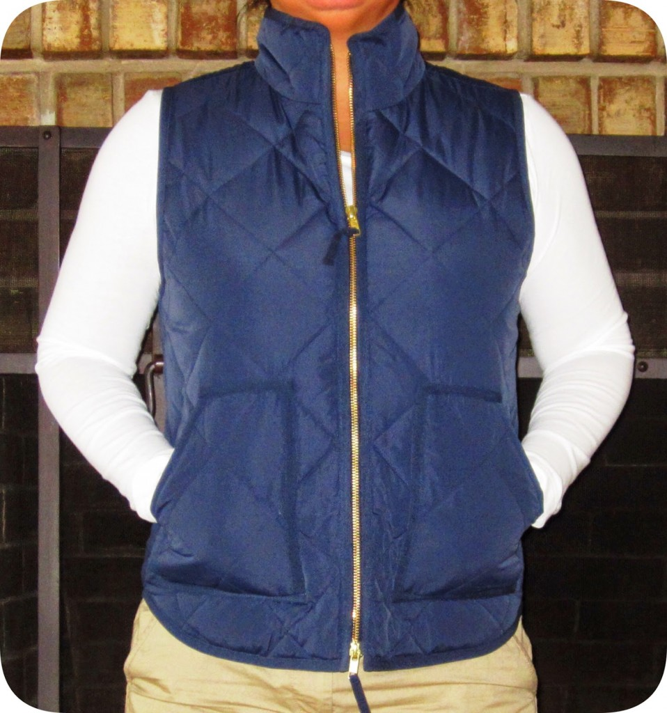 J Crew Factory Quilted Puffer Vest Life Is Short Buy