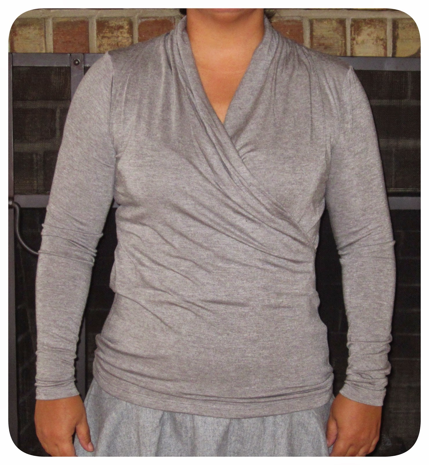 Grey Flannel Skirt 26