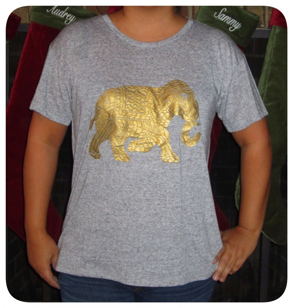 d937a948911c85 And the pretty gold elephant could melt. I really like this tee but  choosing between the two would stick with the Elephant Parade Tee.