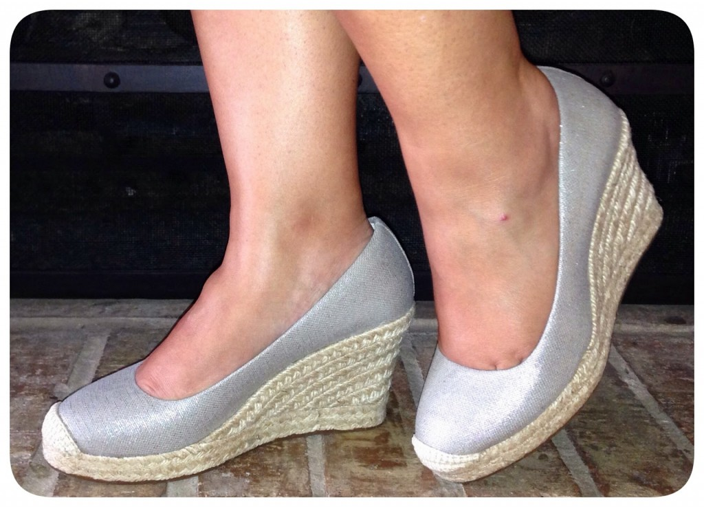 40e04abee930 ... Seville Metallic Espadrille. I loved the metallic fabric on the Blakely  Pump but wanted to find it in something more casual to wear everyday.