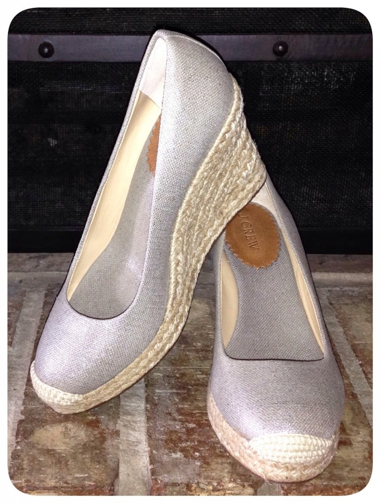711b3fcd9bed Shoes-day  J Crew Seville Metallic Espadrilles – Life is Short…Buy ...