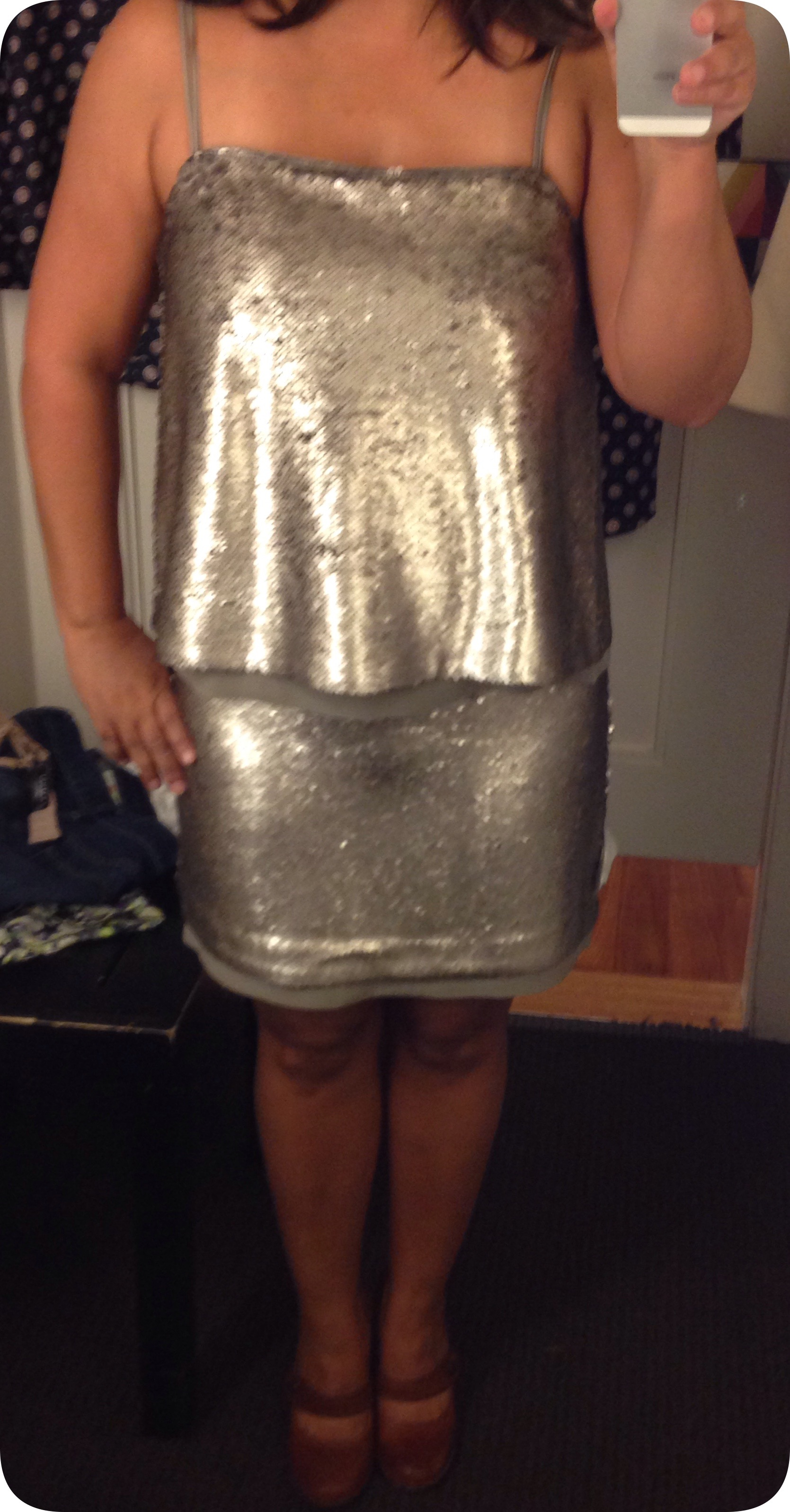 Br Sequindress Front