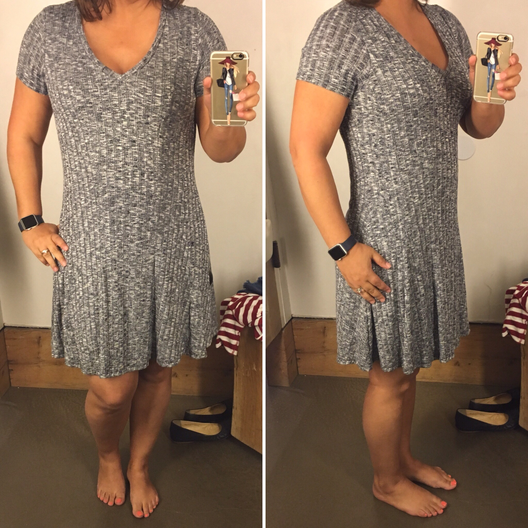 f0b1e55eb505 The Small was definitely the best fit. The length is a few inches above my  knee but I see this as a casual summer dress for outdoor BBQs or food truck  park ...