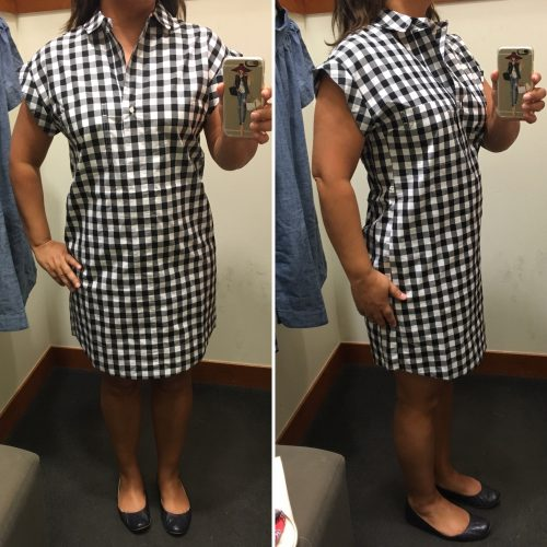 5f19075b41e JC Gingham Small Pin this image on Pinterest. ~ Classic Short-Sleeve  Shirtdress in Gingham ...