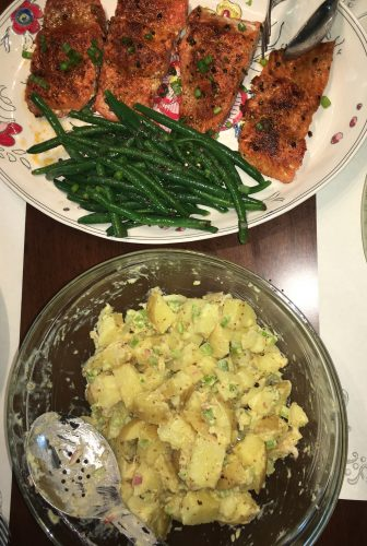 Blue Apron Family Salmon