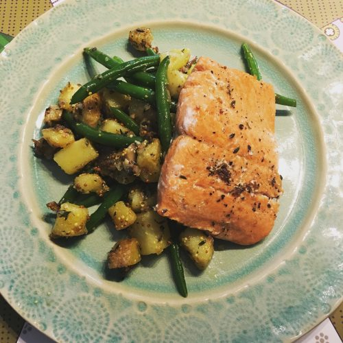Blue Apron Salmon