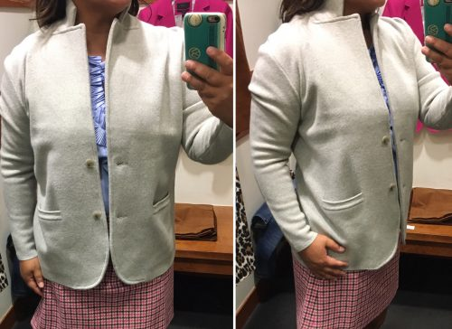 4ec5b6e6cd930 Merino Wool Sweater Blazer – Life is Short…Buy the Shoes
