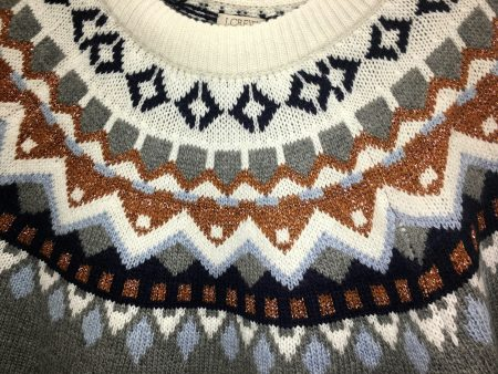 J Crew Factory: Metallic Fair Isle Sweater, Flannel Skirt, Plaid ...